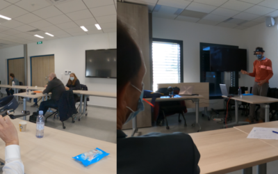 Atelier retour d'expérience Lunettes connectées